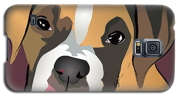 Boxer Puppy Pet Portrait  Galaxy S5 Case