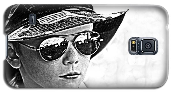 Boy In Aviators Galaxy S5 Case