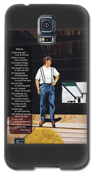 Boy In The Barn / Maturity Galaxy S5 Case