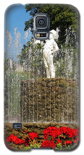 Boy With The Boot 3 Galaxy S5 Case by Shawna Rowe