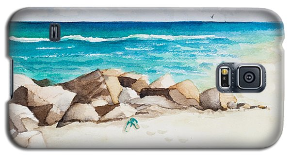 Boynton Beach Inlet Watercolor Galaxy S5 Case