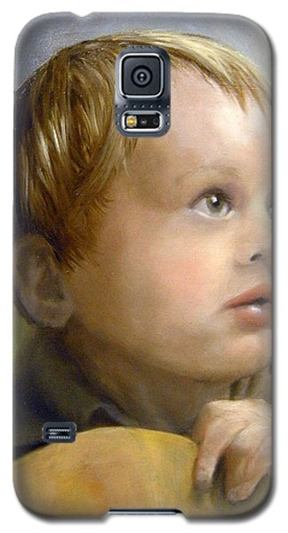 Galaxy S5 Case featuring the painting Boy's Wonder by Lori Ippolito