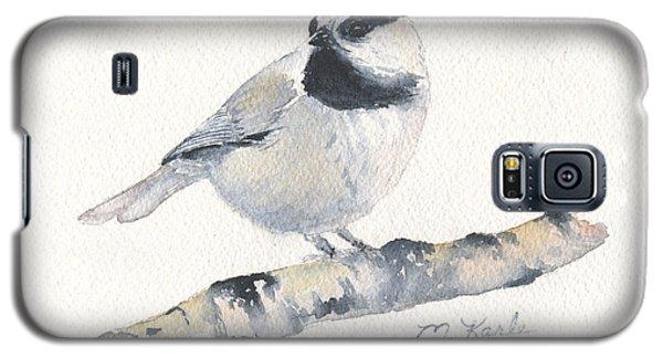 Bozeman Native - Mountain Chickadee Galaxy S5 Case