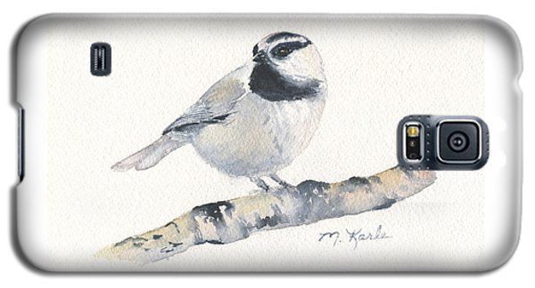 Bozeman Native - Mountain Chickadee Galaxy S5 Case