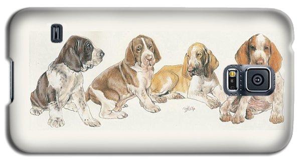 Bracco Italiano Puppies Galaxy S5 Case