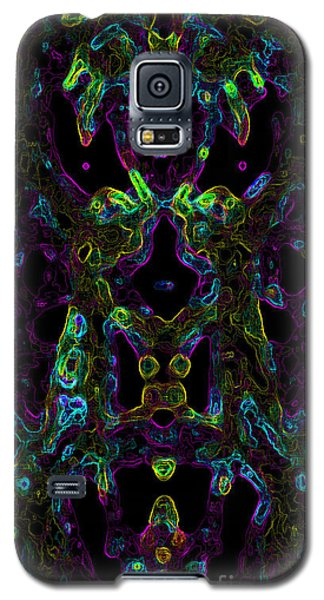 Galaxy S5 Case featuring the digital art Brain Activity Variation 2 by Devin  Cogger