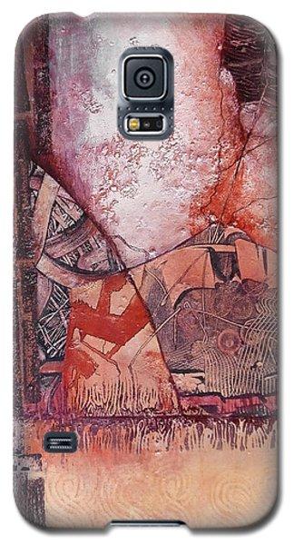 Galaxy S5 Case featuring the painting Brain Cell Replacement Therapy by Buck Buchheister
