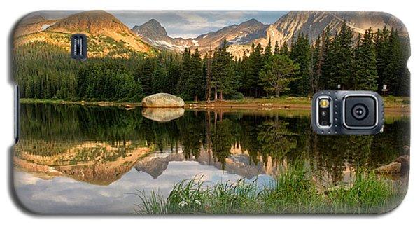 Brainard Lake Reflections Galaxy S5 Case