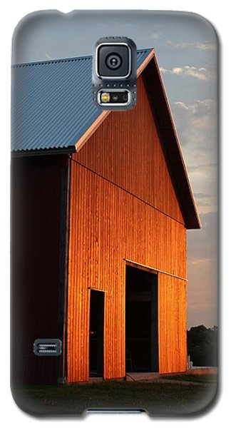 Braised Barn Galaxy S5 Case by Elizabeth Sullivan