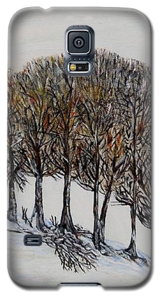 Galaxy S5 Case featuring the painting Branch Broken by Marilyn  McNish