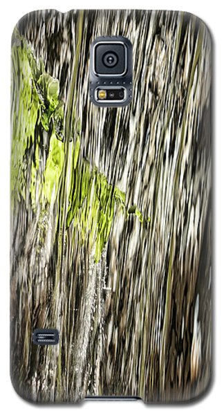 Branch In Waterfall Galaxy S5 Case
