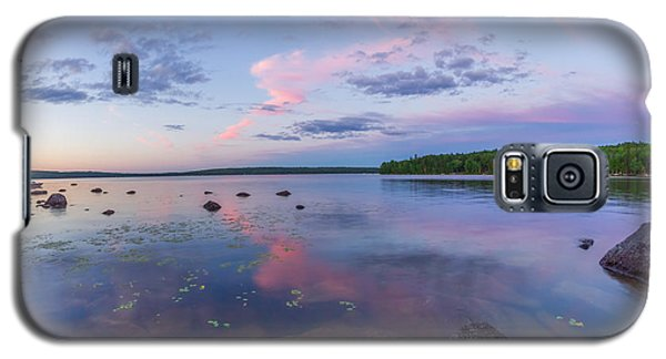 Branch Lake Mirror Sunset Galaxy S5 Case