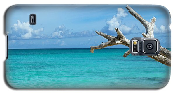 Branch Over The Caribbean Galaxy S5 Case