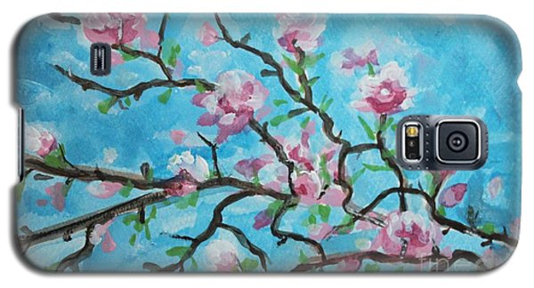 Branches In Bloom Galaxy S5 Case by Elizabeth Robinette Tyndall