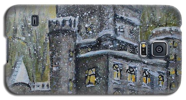 Brandeis University Castle Galaxy S5 Case