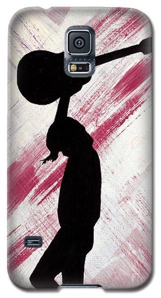 Brandi Carlile Hot Summer Night Galaxy S5 Case by Alys Caviness-Gober