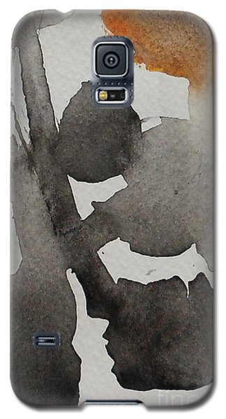 Galaxy S5 Case featuring the painting Brandon 3 by Fred Wilson