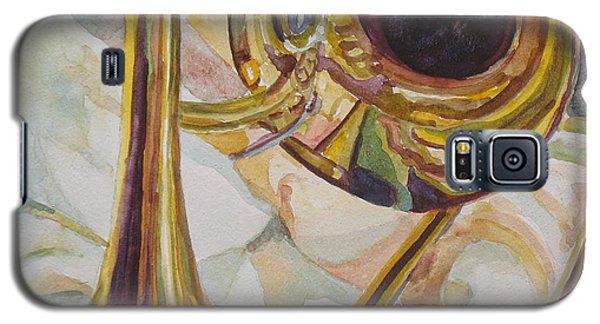 Trombone Galaxy S5 Case - Brass At Rest by Jenny Armitage