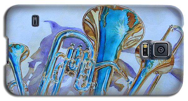 Music Galaxy S5 Case - Brass Candy Trio by Jenny Armitage