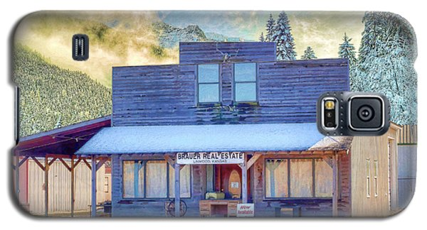 Galaxy S5 Case featuring the photograph Brauer Real Estate Linwood Kansas by Liane Wright