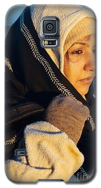 Galaxy S5 Case featuring the photograph Braving The Cold by Fotosas Photography