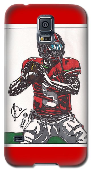 Braxton Miller 1 Galaxy S5 Case by Jeremiah Colley