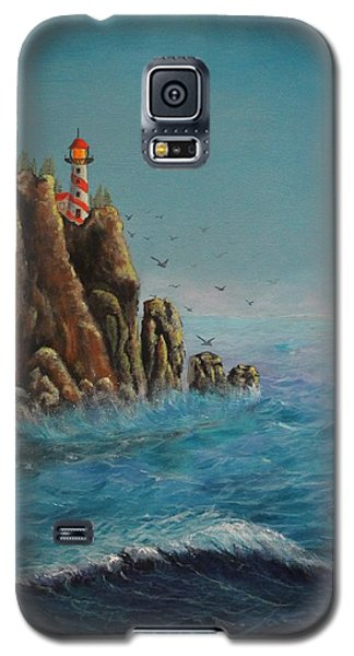Breakers At Lighthouse Point Galaxy S5 Case