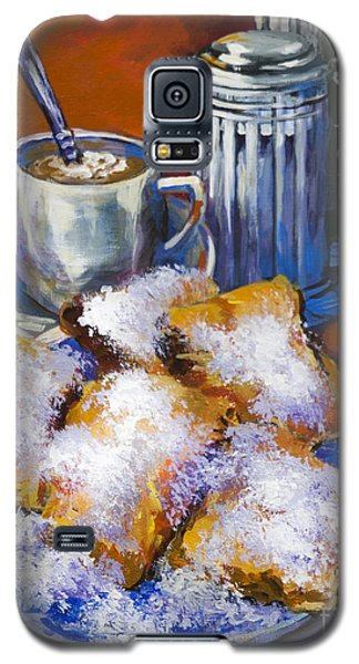 Breakfast At Cafe Du Monde Galaxy S5 Case by Dianne Parks