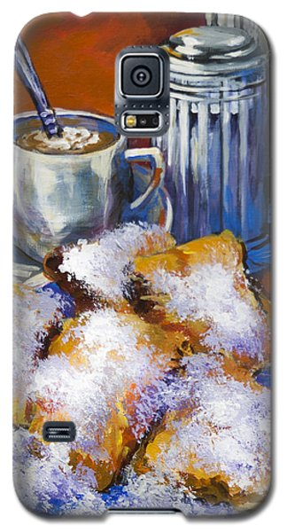 Breakfast At Cafe Du Monde Galaxy S5 Case