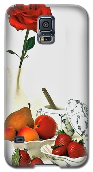 Galaxy S5 Case featuring the photograph Breakfast For Lovers by Elf Evans