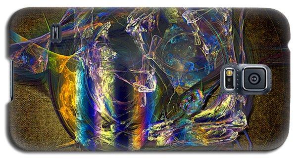 Galaxy S5 Case featuring the painting Breakfast Of Artist by Alexa Szlavics