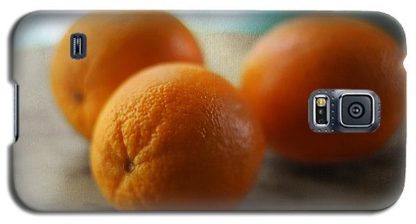 Breakfast Oranges Galaxy S5 Case by Amy Tyler