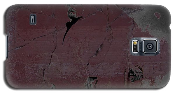 Galaxy S5 Case featuring the digital art Breaking Bad Concrete Wall by Brian Reaves