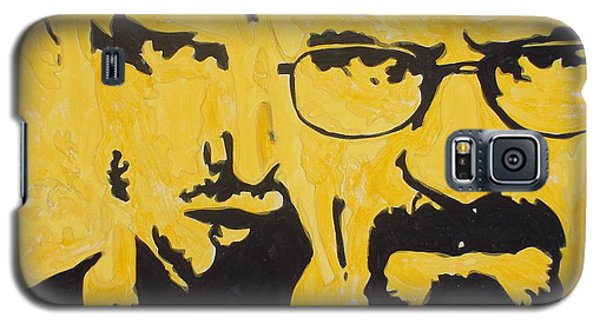 Breaking Bad Yellow Galaxy S5 Case by Marisela Mungia