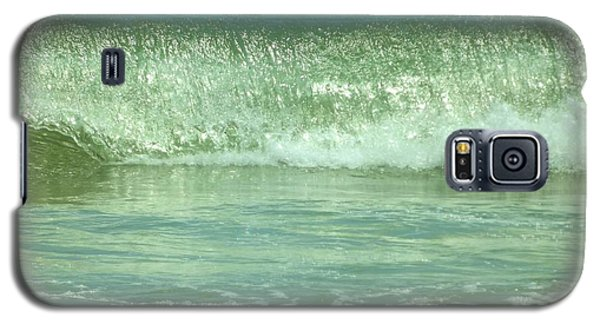 Breaking Wave Calm  Galaxy S5 Case by John Wartman