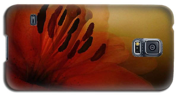 Galaxy S5 Case featuring the photograph Breath Of The Lily by Marianna Mills
