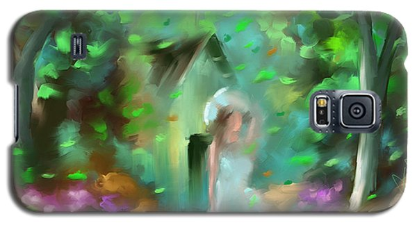 Galaxy S5 Case featuring the painting Breeze by Steven Lebron Langston