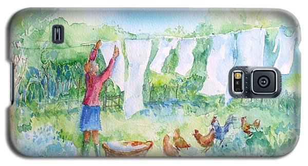 Breezy Day  -great Drying Out Galaxy S5 Case