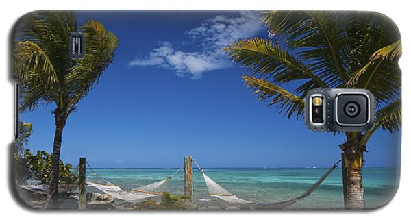 Galaxy S5 Case featuring the photograph Breezy Island Life by Adam Romanowicz
