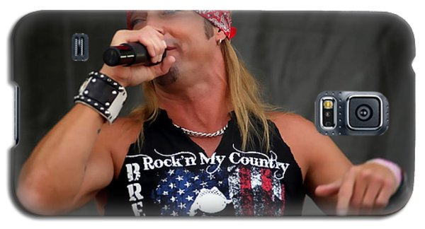 Bret Michaels In Philly Galaxy S5 Case by Alice Gipson