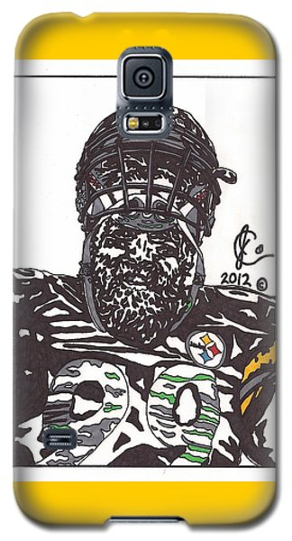 Brett Keisel 2 Galaxy S5 Case by Jeremiah Colley