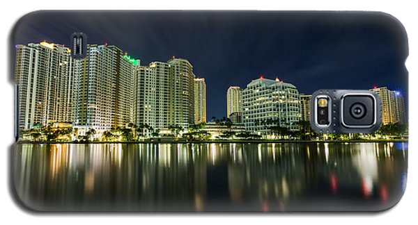 Brickell Key Night Cityscape Galaxy S5 Case