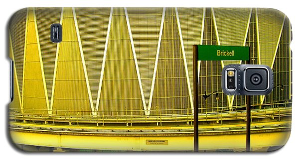 Brickell Station In Miami Galaxy S5 Case