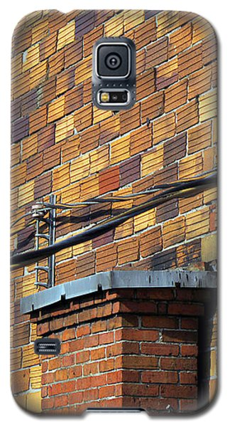 Bricks And Wires Galaxy S5 Case by Ethna Gillespie