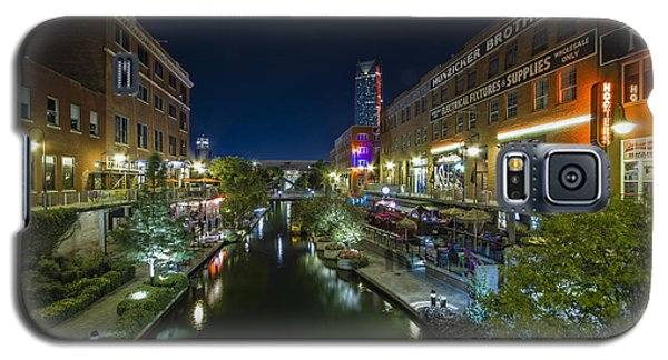 Bricktown Canal Galaxy S5 Case