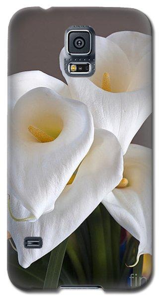 Bridal Cali Lilies Galaxy S5 Case