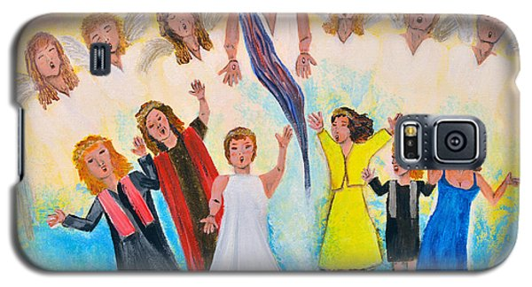 Galaxy S5 Case featuring the painting Bridal Invitation by Cassie Sears
