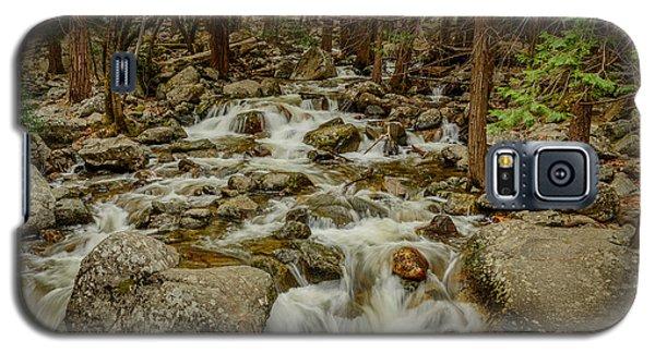 Bridalveil Creek In Yosemite Galaxy S5 Case by Terry Garvin