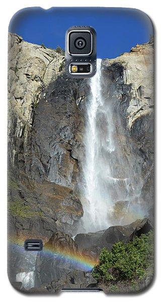 Bridalveil Falls With Rainbow Galaxy S5 Case