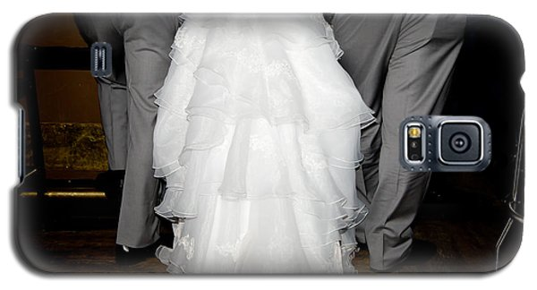 Galaxy S5 Case featuring the photograph Bride At The Bar by Courtney Webster